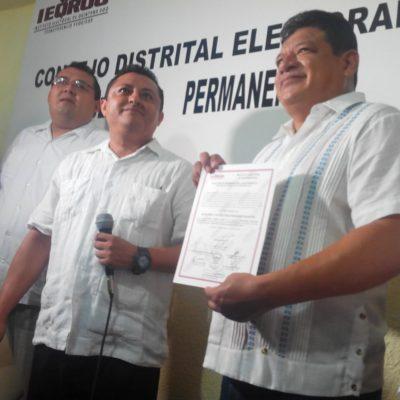 CITA CON LA HISTORIA EN CHETUMAL: Dan constancia de mayoría a Luis Torres Llanes como alcalde electo de OPB