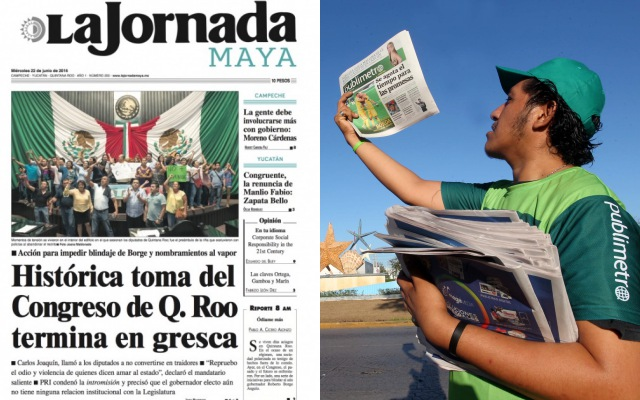 Rompeolas: Nuevos medios impresos en Quintana Roo