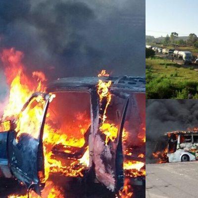 SE CONVIERTE OAXACA EN FOCO DE LA RESISTENCIA MAGISTERIAL: Choque entre maestros de la CNTE y federales en Nochixtlán deja 6 muertos y 107 heridos