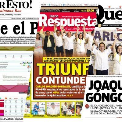Rompeolas: Se reagrupan 'periodistas' arrepentidos