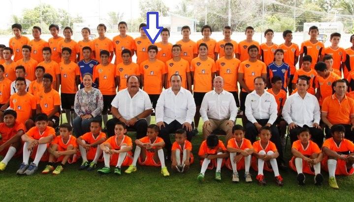 El hijo del ex gobernador Félix González Canto es portero titular en el equipo Tigrillos de Chetumal.