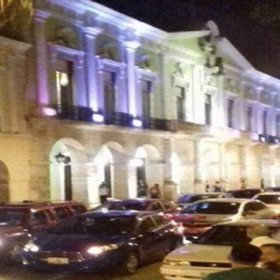 PROTESTA EN MÉRIDA: Rechazan reforma al transporte que busca cerrarle el paso a UBER en Yucatán