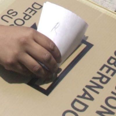 SIGUE IEQROO TOLERANTE ANTE LA COACCIÓN DEL VOTO: Rechaza prohibir el uso de celulares en las urnas, estrategia usada para la compra del sufragio