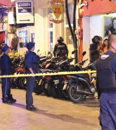 Balazos en Cozumel en dos sucesos diferentes durante el fin de semana