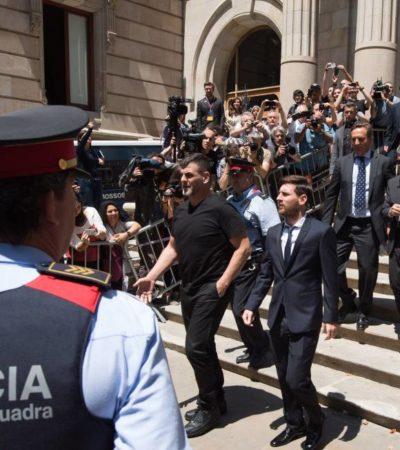 MESSI, CULPABLE POR EVASIÓN FISCAL: Condenan al astro argentino y a su padre a 21 meses de cárcel aunque difícilmente entrarán a prisión