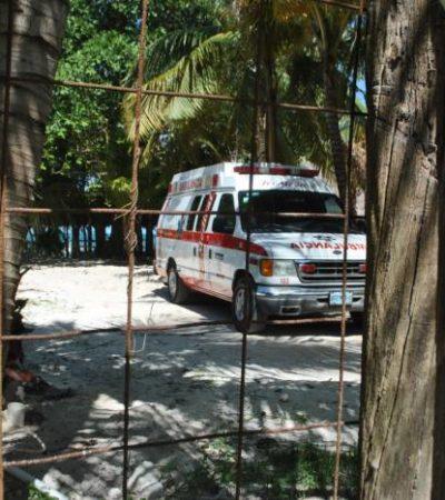 Muere turista descompresionado por accidente con la manguera de oxígeno cuando buceaba en Isla Contoy