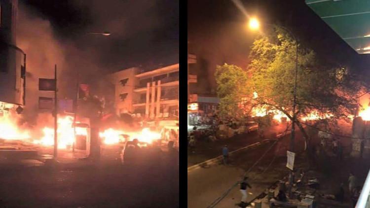 ATENTADO EN BAGDAD: Decenas de muertos y heridos tras estallido de coche bomba en zona comercial de la capital iraquí