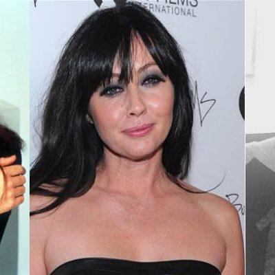 En su lucha contra el cáncer, actriz Shannen Doherty se afeita la cabeza