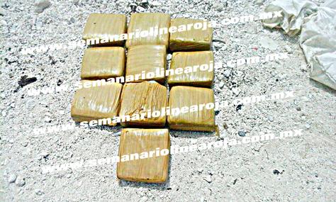 NUEVO RECALÓN DE DROGA EN MENOS DE 48 HORAS: Hallan en playa de Akumal costal con más de 12 kilos de presunta cocaína