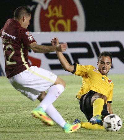 Venados cayó ante América en su debut en la Copa Corona MX