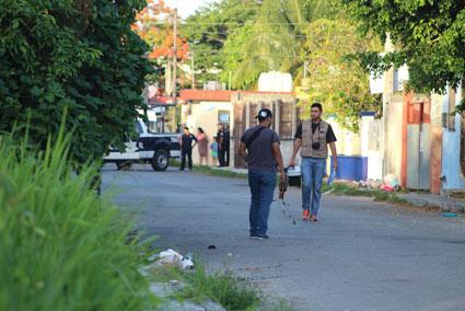 SIGUE LLOVIENDO BALA EN COZUMEL: Rafaguen vivienda en la colonia Independencia