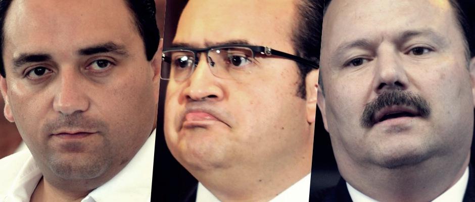 PODRÍA PRI SUSPENDER DERECHOS A BORGE Y LOS DUARTE: Acepta Comisión Nacional de Justicia Partidaria denuncia contra 3 Gobernadores impresentables