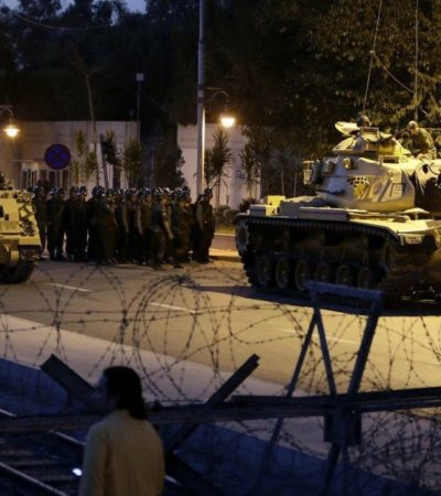 GOLPE DE ESTADO | MÁXIMA TENSIÓN EN TURQUÍA: Fracasa intento de militares de derrocar al presidente Erdogan