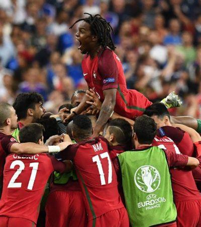 PORTUGAL, CAMPEÓN DE EUROPA: SIN Cristiano Ronaldo en la cancha, los lusos se imponen 1-0 a Francia en la final de la Eurocopa