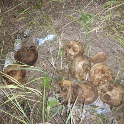 Reportan hallazgo de 7 cráneos humanos tirados en el Anillo Periférico de Mérida