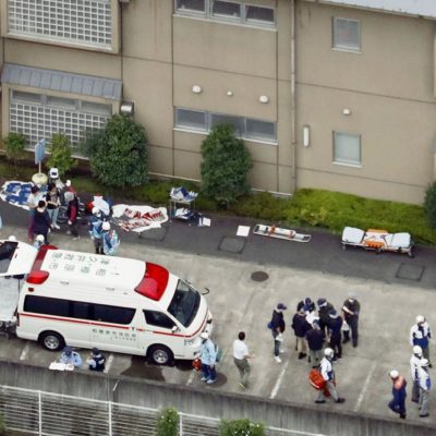 ATAQUE MASIVO EN JAPÓN: Un joven mata con un cuchillo a 19 personas y reportan decenas de heridos