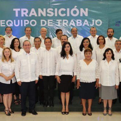 CARLOS JOAQUÍN PRESENTA A EQUIPO DE TRANSICIÓN: Rumbo al cambio de mando en QR, Gobernador electo anuncia primeros nombramientos, pero no el Gabinete