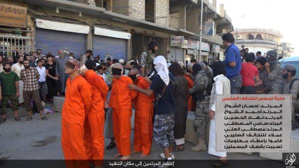 Decapita Estado Islámico a 4 integrantes de un equipo de futbol de Raqqa