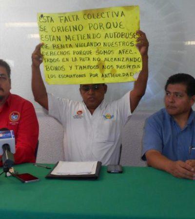 SIGUEN LOS DESMANES DE BORGE ANTES DE IRSE: Impone un 'sindicato blanco' en Turicún, empresa concesionaria del transporte urbano de Cancún