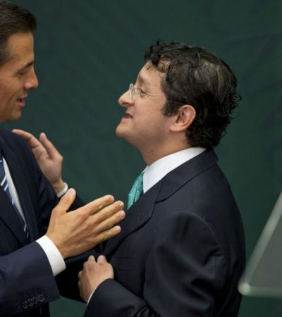 RENUNCIA EL 'FANTOCHE' DE PEÑA NIETO: Sale Virgilio Andrade de la Función Pública por promulgación de leyes del Sistema Nacional Anticorrupción