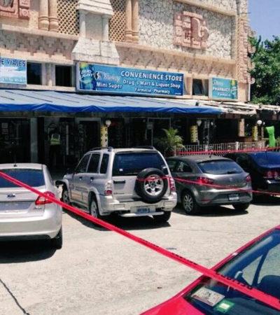 INTENTO DE EJECUCIÓN EN PUNTA CANCÚN: Balean a un hombre en la Plaza Maya, en el corazón turístico de la Zona Hotelera; huyen atacantes