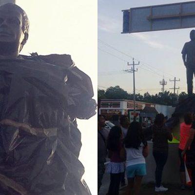 """""""ESTÁN LASTIMANDO LA IDENTIDAD Y LA RAÍZ DEL PUEBLO MAYA"""": Llega hasta FCP repudio a estatua a Gastón Alegre en Tulum"""