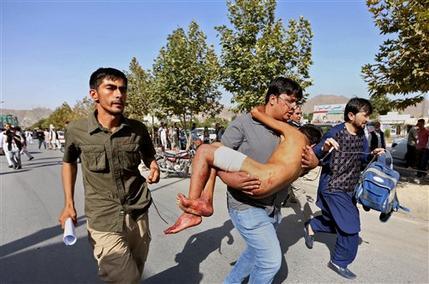 Al menos 80 muertos y 231 heridos en explosión durante marcha de protesta en Kabul