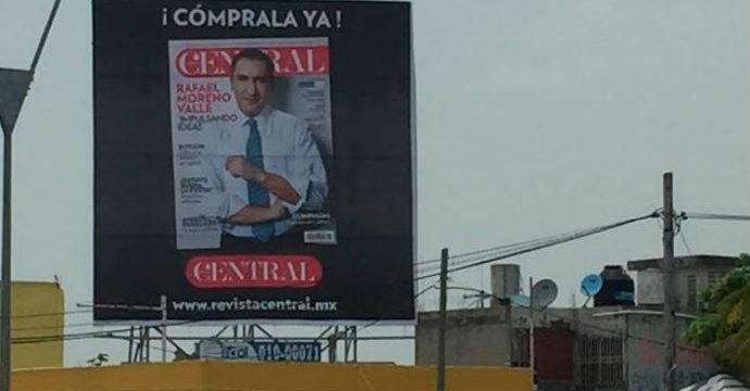Con revista de TV Azteca, montan propaganda del Gobernador de Puebla… ¡en Cancún!