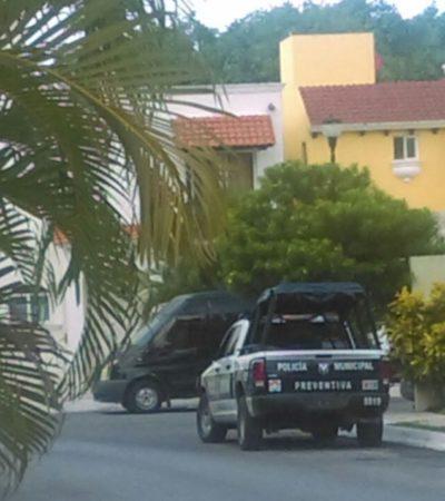 Con una bolsa en la cabeza y gas butano, un hombre se suicida en Villas Toscana de Cancún