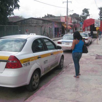 Taxistas de Bacalar se quejan de 'pirataje' del Suchaa