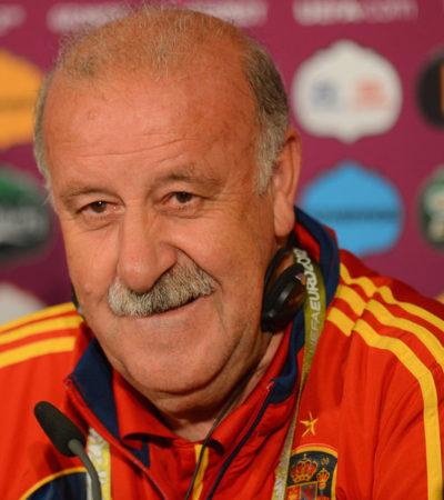 Anuncia Vicente del Bosque su salida de la selección nacional de futbol de España