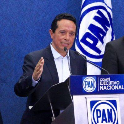 """ENDURECE CARLOS ADVERTENCIA CONTRA 'BETO': Con el respaldo del PAN, dice Gobernador electo que tumbará 'blindaje' de Borge y profundizará auditorías; """"los corruptos irán en la cárcel, empezando por Borge"""", amagan"""