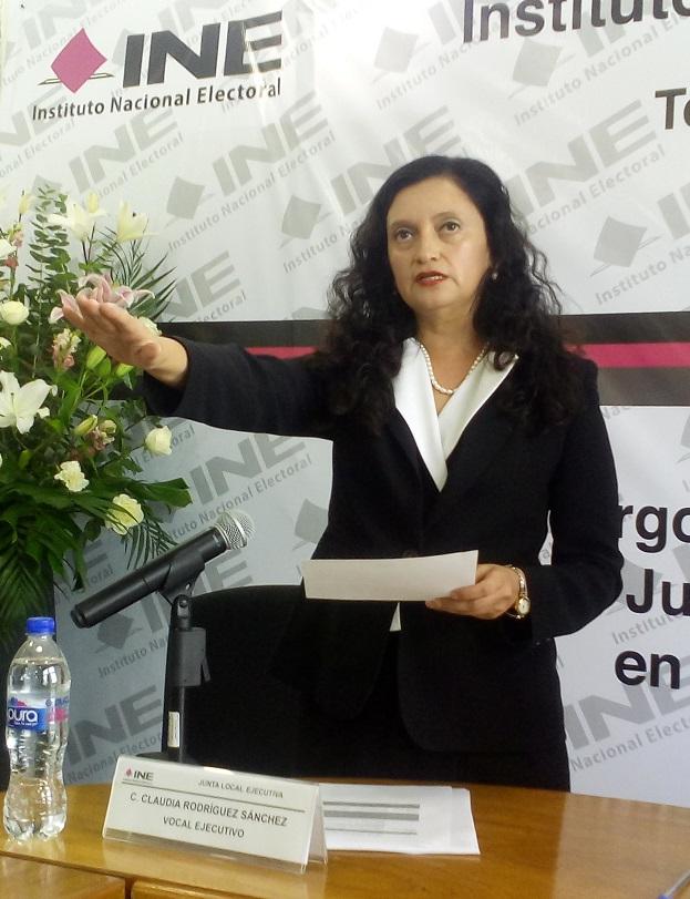 Rinde protesta nueva delegada del INE en Quintana Roo