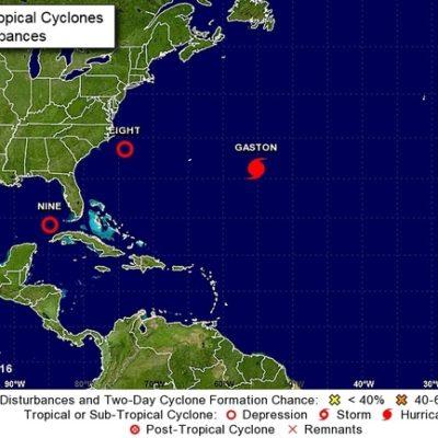 Monitorean depresión tropical al noreste de la península de Yucatán que podría afectar a Florida como tormenta tropical