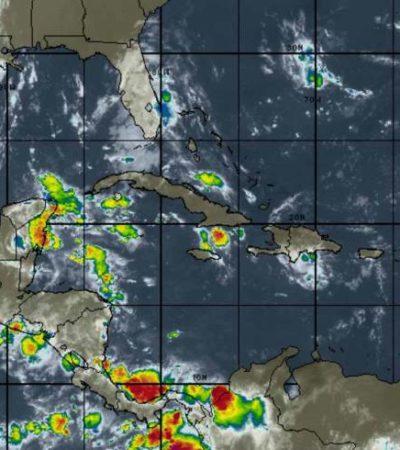 Seguirán lluvias en la península de Yucatán por onda tropical