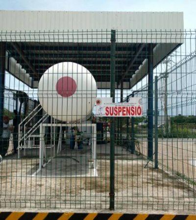 Clausuran estación de Z Gas por no cumplir normas de seguridad en Playa del Carmen