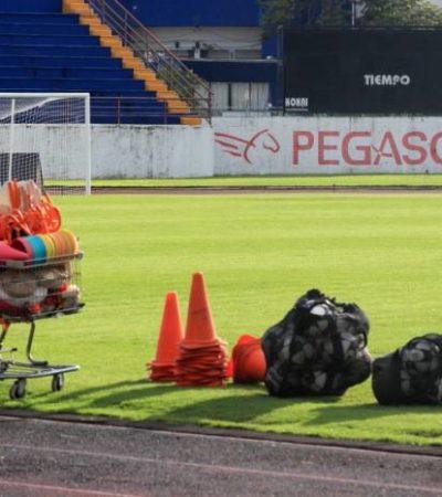 LA 'CRISIS DE LA TRANSICIÓN' LE PEGA AL ATLANTE: Jugadores no asisten a entrenamiento en protesta por adeudo de sueldos