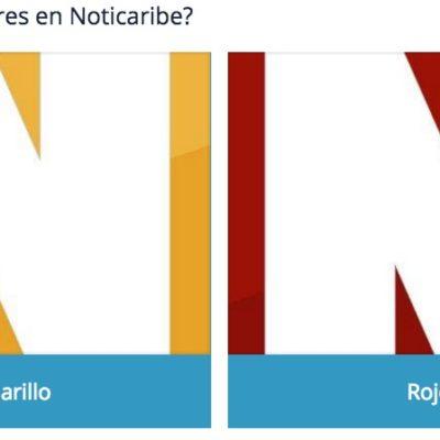 ENCUESTA: ¿Cuál color prefieres para el logo de Noticaribe?