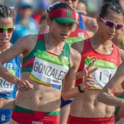 LUPITA GONZÁLEZ LE DA PLATA A MÉXICO: En el último tramo de la marcha de 20 kilómetros, la china Liu Hong le arrebata el oro