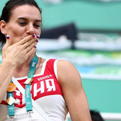ISINBÁYEBA DA SU ÚLTIMO SALTO CON PERTIGA: La bicampeona olímpica rusa anuncia su retiro
