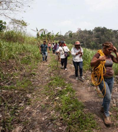 Encuentran madres de desaparecidos indicios de 40 osamentas en 28 fosas clandestinas en Veracruz