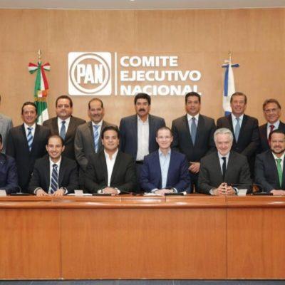 Acude Carlos Joaquín al DF para una reunión con la dirigencia del PAN y gobernadores en funciones y electos