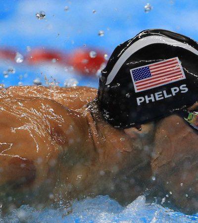 PHELPS SE DESPIDE A LO GRANDE: El tritón estadounidense se lleva su oro 23 en JO al ganar en relevos 4×100