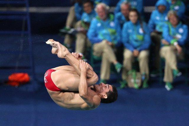 ERRORES HUNDEN A ROMMEL PACHECO: Cuando parecía alcanzar una medalla, clavadista yucateco termina séptimo en trampolín de 3 metros