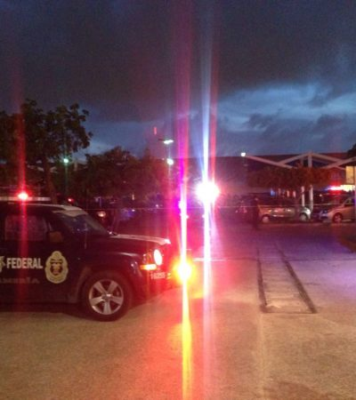 SIGUE LA OLA DE VIOLENCIA EN CANCÚN: Ejecutan a balazos a hombre en estacionamiento de Wal-Mart en la Avenida Xcaret