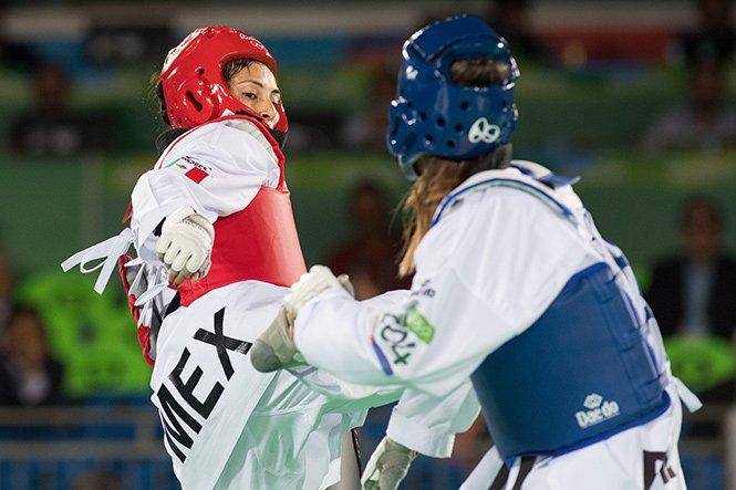 Pierde México posibilidad de 2 medallas de bronce en taekwondo; caen Manjarrez y Navarro