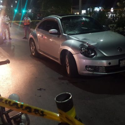 Dictan un año de prisión preventiva para mujer que atropelló y mató a una menor de 16 años en Cancún