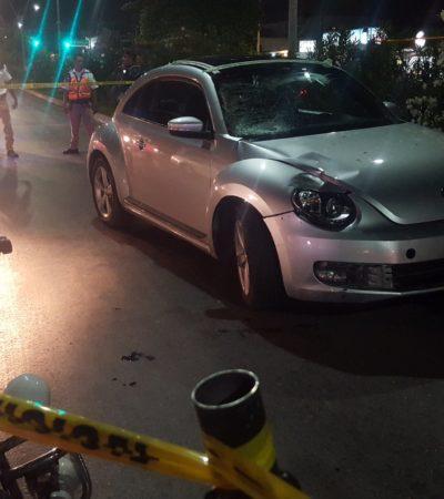 Judicializan caso de conductora que atropelló y mató a una menor en paso peatonal en Cancún