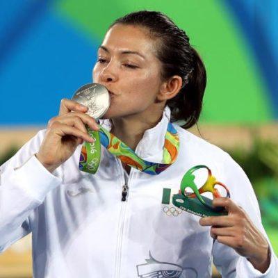 GANA MEDALLA POR TERCERA OCASIÓN: María del Rosario Espinoza hace historia al llevarse la plata en taekwondo