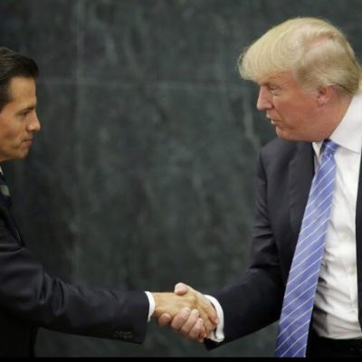 """""""NO QUEDA DUDA DE QUE FUE UN ALIADO"""": 'Error histórico' de Peña al invitar a Trump a México le dio impulso para ganar Presidencia, acusan líderes de oposición"""